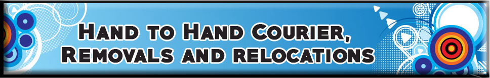 Hand to Hand Courier, Removals and relocations Banner